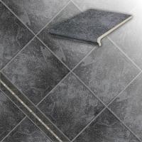 Керамические ступени и плитка серии Roccia 845 nero