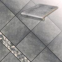 Керамические ступени и плитка серии Roccia цвет 840 gririo