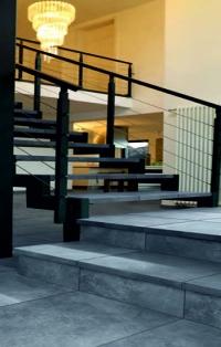 Керамические клинкерные ступени и плитка серии RoссiaX и AeraX цвет 710 crio Aera X