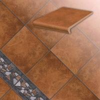 Керамические ступени и плитка серии Roccia цвет 839 ferro