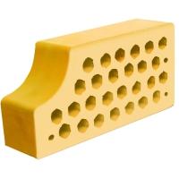 Фасонный керамический кирпич Евротон ВФ-14 желтый