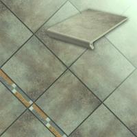 Керамические ступени и ступени для лестниц серии Aera цвет onda