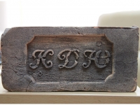 Кирпич ручной формовки с именным клеймом
