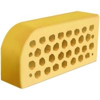 Фасонный керамический кирпич Евротон ВФ-5 желтый