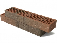 Керамический кирпич Браер Баварская кладка «кора дуба» с песком