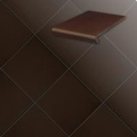 Клинкерные ступени и плитка серии Terra 210 braun