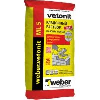 Цветной кладочный раствор Weber Vetonit ML5