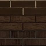 ЛСР тёмно-коричневый гладкий/рустик/тростник