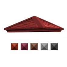 Крышка Гибкая черепица КЗ-385 красная