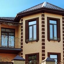 Керамический кирпич Починковский коричневый фактура «кора дерева»