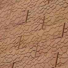 Аксайский кирпич Ретро «панцирь черепахи»