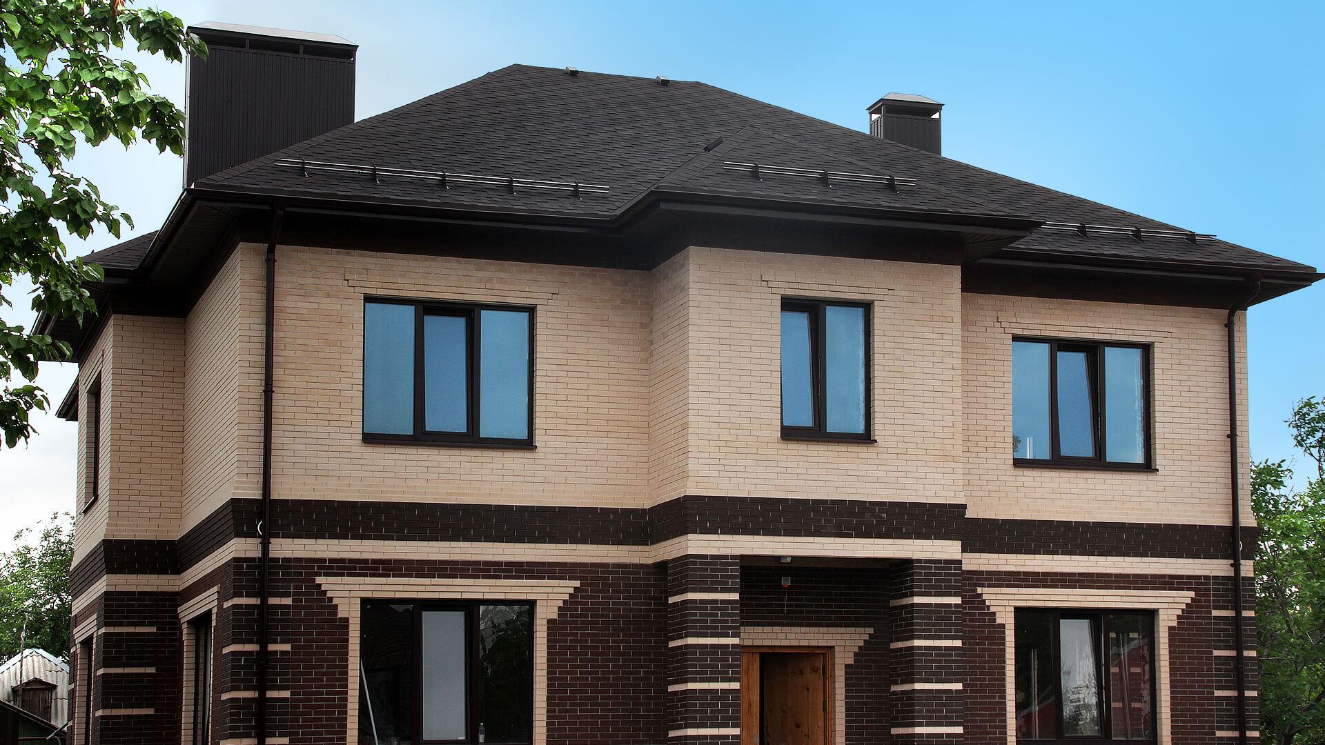 понравится необычная фасады домов из кирпича разного цвета фото пользуются мошенники